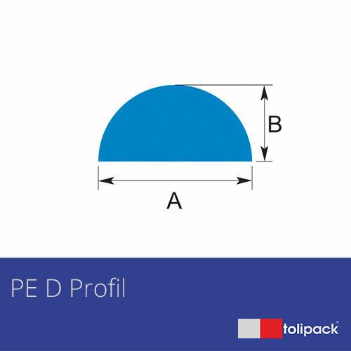 Polyethylene D Profile